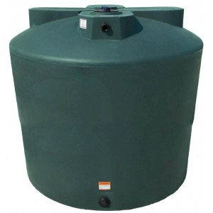 2550 Gallon Plastic Water Storage Tank