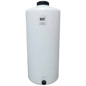 75 Gallon Plastic Vertical Storage Tank
