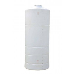 2000 Gallon Plastic Vertical Storage Tank