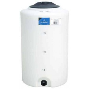 20 Gallon Plastic Vertical Storage Tank
