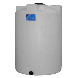 130 Gallon Plastic Vertical Storage Tank