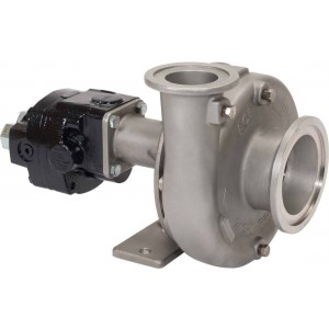 Ace 206 Hydraulic Driven 316 Stainless Steel Pump with 220 Flange Suction x 200 Flange Discharge