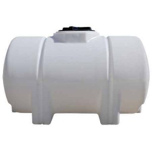 325 Gallon Horizontal Leg Tank with Bands