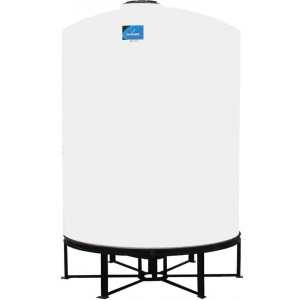 3000 Gallon Cone Bottom Tank w/ Stand