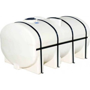 2750 Gallon Elliptical Leg Tank with Bands