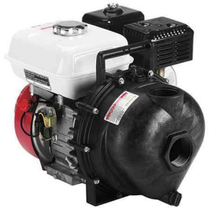 "6.5 HP Honda Gas Engine Poly Pump with 2"" NPT"