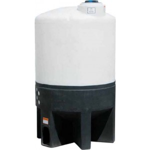 310 Gallon Cone Bottom Tank w/ Stand