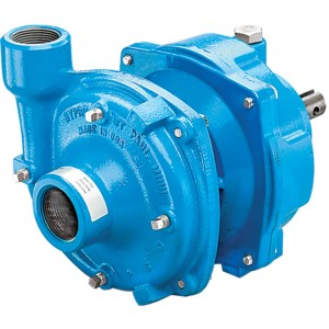 "Gear Driven Cast Iron Centrifugal Pump with 1-1/2"" NPT Inlet x 1-1/4"" NPT Outlet"