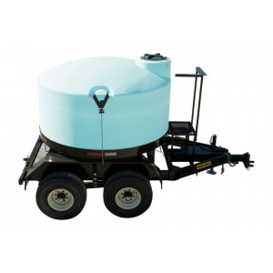 1300 Gallon Full Drain Cone Bottom Nurse Trailer