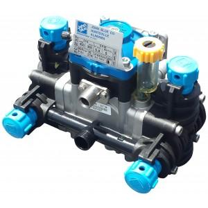 "Low Pressure Poly Diaphragm Pump -  3/4"" HB Inlet x 1/2"" NPT Outlet"