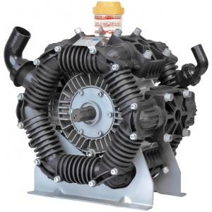 "Low Pressure Poly Diaphragm Pump -  2"" HB Inlet x 1"" NPT Outlet"