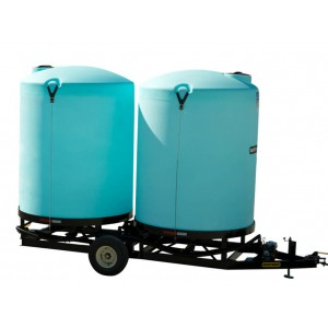 Dual Cone Bottom Full Drain Nurse Trailer