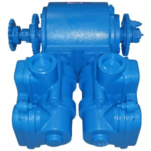 "Cast Iron Piston Pump -  2"" NPT Inlet x 2"" NPT Outlet"