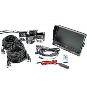 "10"" Monitor & Quad Camera System"