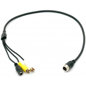 RCA Male to 4-Pin Video Adapter
