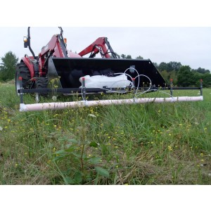 10' Weed Wiper ATV & Front Bucket Mount