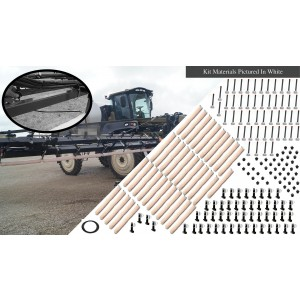 80' Weed Wiper Self-Propelled Sponge Kit