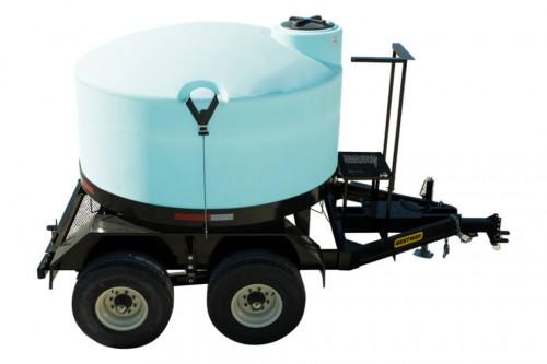 1300 Gallon Full Drain Cone Bottom Nurse Trailer