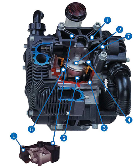 Low-Pressure Poly Diaphragm Pumps